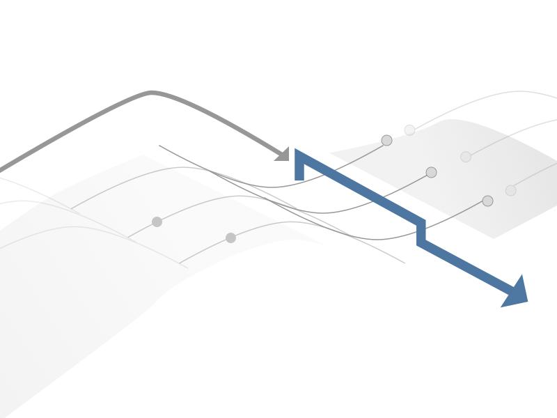 Diagram Flow arrows ui dots flowcharts flow diagram