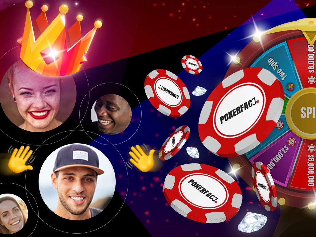 Pokerface - Video Chat Poker gambling add on poker pokerface game