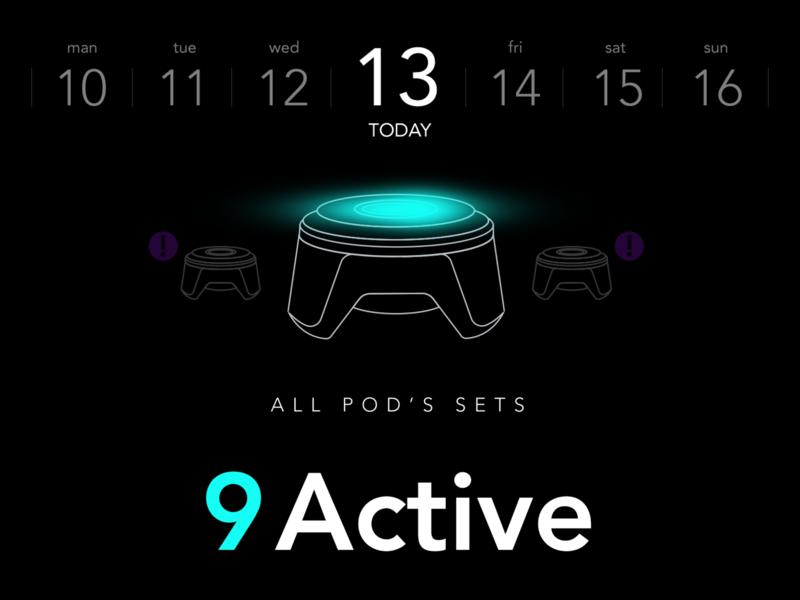 BlazePod app activity tracker sport app pod calendar charge bluetooth