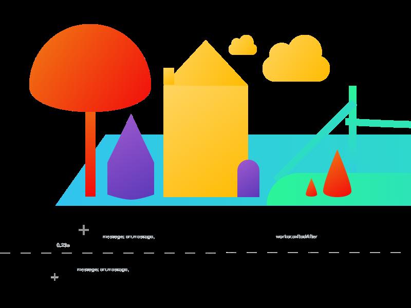 Ground Platform Sketch sketch tree home illustration