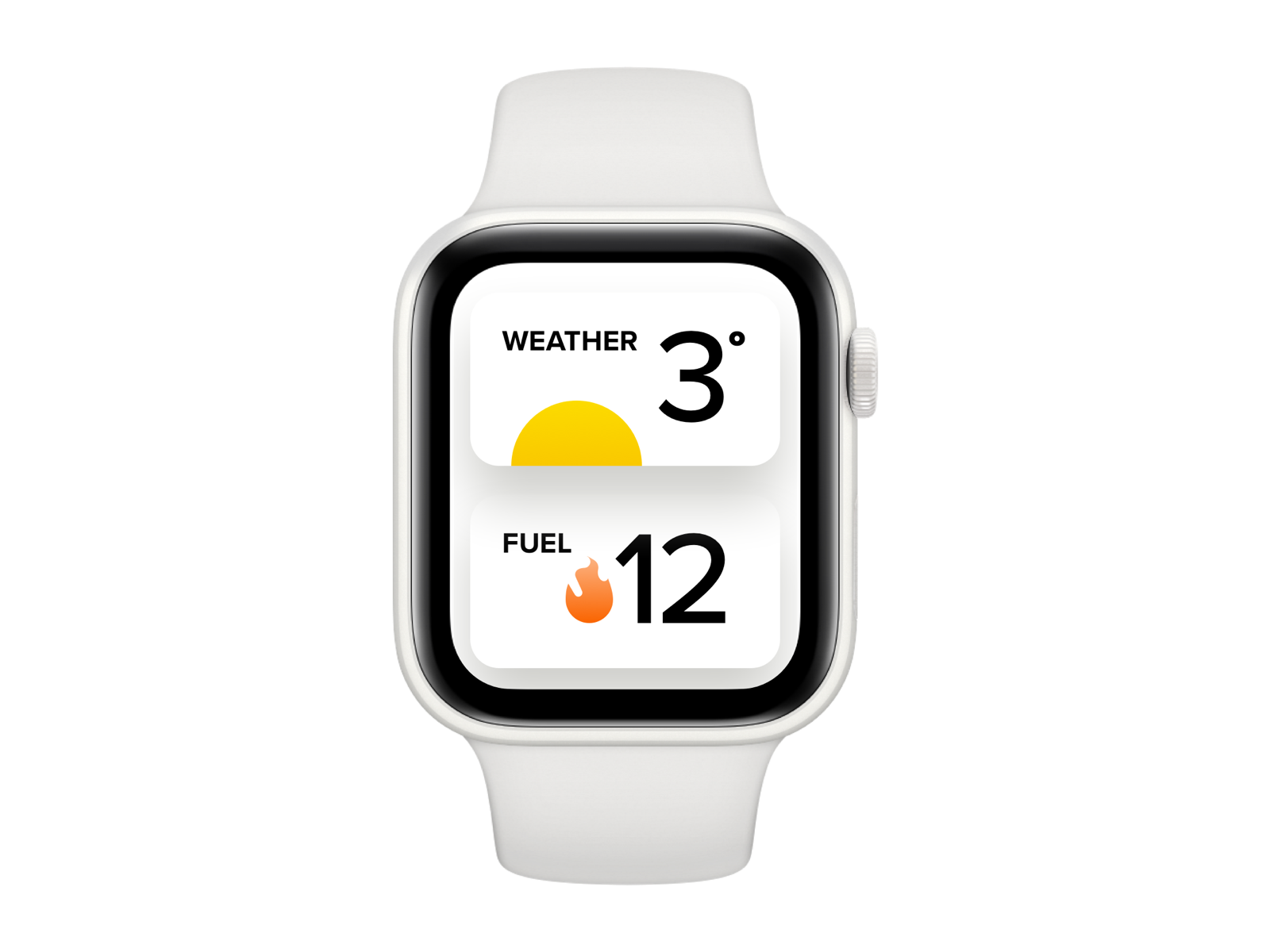 Weather weather watch app sketch