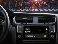 Dashboard UI black auto car ui dashboard sketch