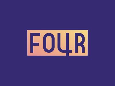 Four gad illustrator vector 4 logo four