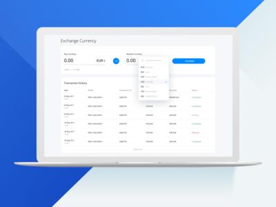 Exchange UI