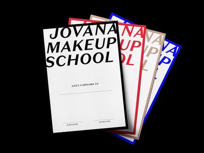 Jovana Makeup School Diploma