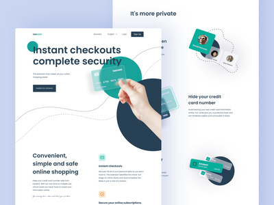 Finance landing page final version checkout card neumorphism homepage landing payment financial shopping credit card fintech blur banking after effects design ui ux illustration animation mentalstack