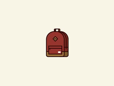 Herschel Heritage Backpack. pack flat design backpack herschel