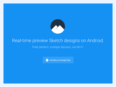 Redesigning Mira identity elegant web android tool clean brand design sketchapp sketch mirapp mira