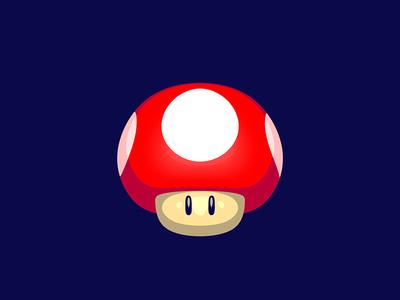 More 3D Practice :) lowpoly model nintendo mushroom render c4d 3d