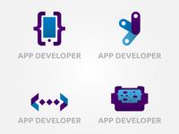 App Developer Logo Set