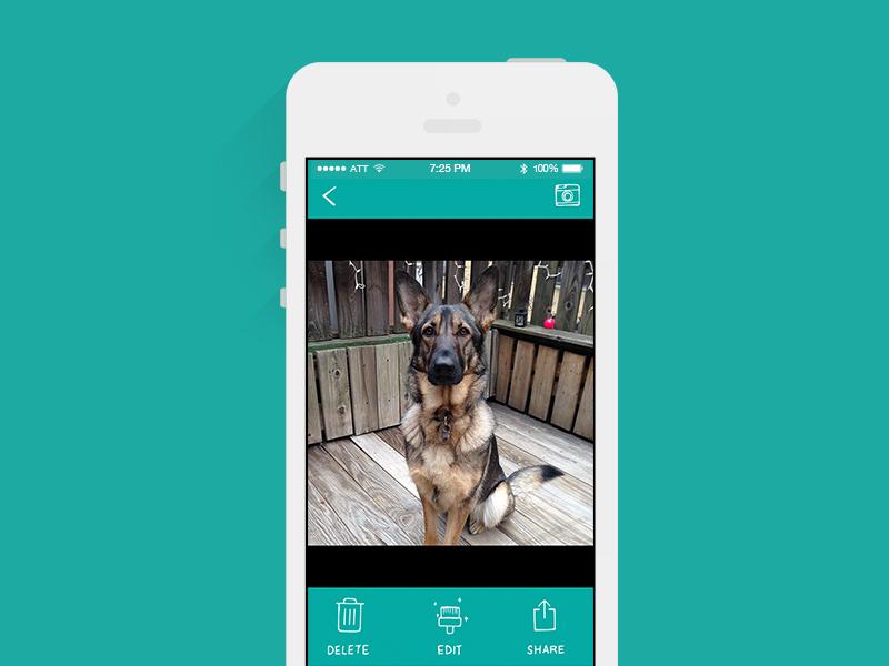 Camera app for dog camera app ui dog