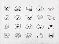 Hand draw icons