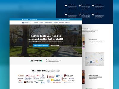 Website Refresh | Hamilton Education wordpress testing conversion rate optimization online education developer website web design figma design