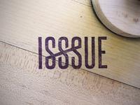 ISSSUE stamp