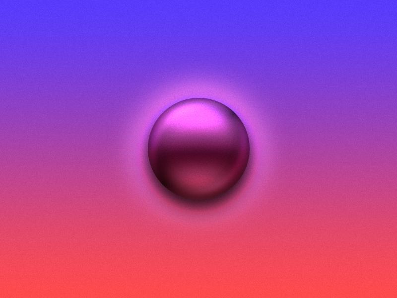 One Layer Circle Rebound rebound circle sphere chromed chrome light photoshop one layer circle