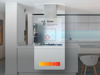 Smart Home app poland cracow graphic icon 3d ar vr interior home animation motion interaction vector minimal design ux ui app
