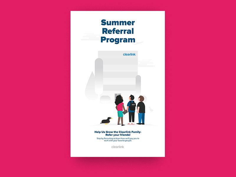 referral poster by matt prina