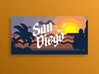 San Diego Beach Towels