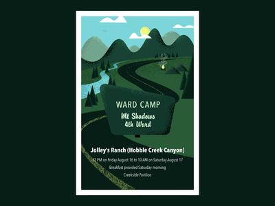 Ward Camp Poster