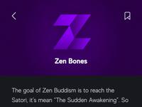Meantime zen bones