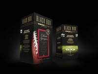 Black Box Wines Limited Edition Packaging