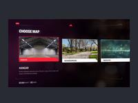 Drone simulator game UI unity interface animation design game ui