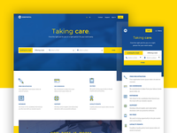 Jobs portal UI design