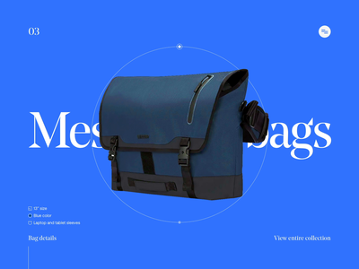 Urban bags shop exploration messenger bags urban webdesign web ui interface