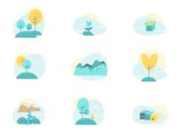 Small Illustrations Set