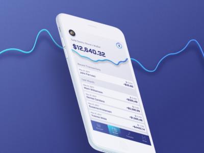 Wallet for Merchants on UTRUST ecommerce seller merchant money crypto financial graph mobile app wallet