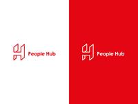 People Hub logo concept