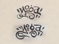 """Yoga"" Lettering"