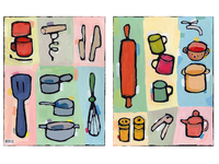 Kitchen Icon Paintings