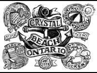 Crystal Beach doodle