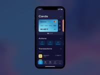 Bank UI concept