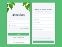 ecobee login concept