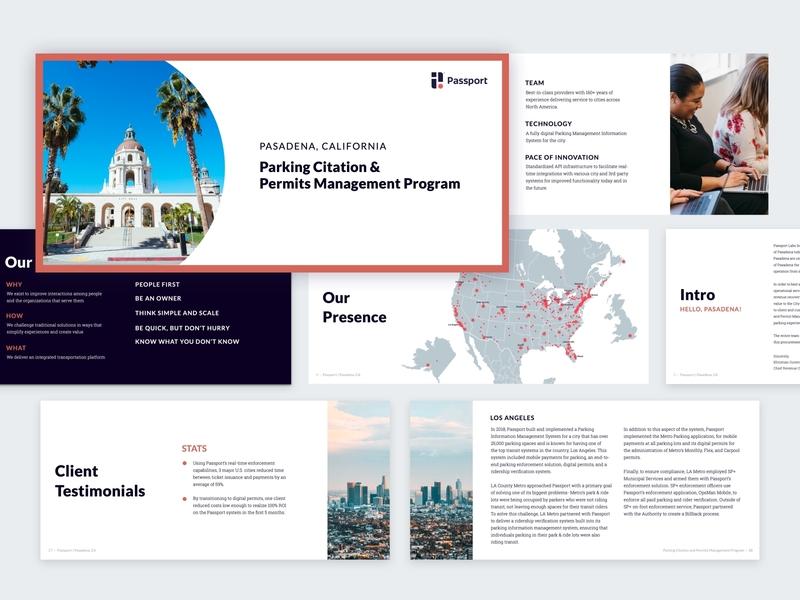 Proposal Playbook presentation template presentation design layout exploration layout design book layout