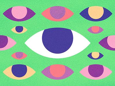 i photoshop graphic design clean illustrator website web app icon typography ux branding ui logo brutalism abstract art abstract eyes vector design illustration