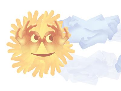 🌻 Sunflower photoshop graphic design clean illustrator website web app icon typography ux vector branding ui logo design smile sun sunflower exploration illustration