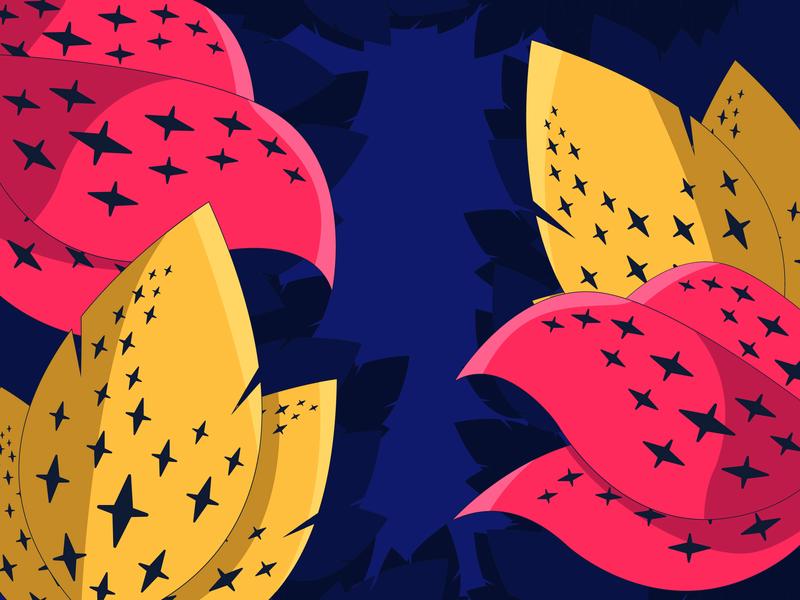Sometimes photoshop graphic design clean illustrator website web app icon typography ux branding ui logo shapes pattern britght foliage vector illustration design