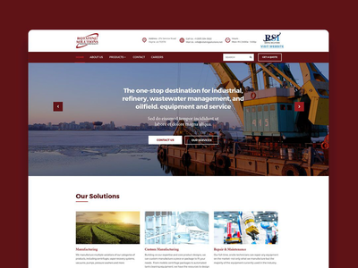 Rotating Solutions Web Redesign