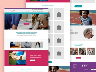 FunCastCovers e-Commerce Concept