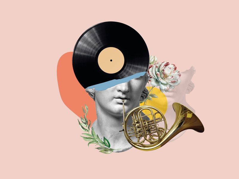 Fashion vinyl player