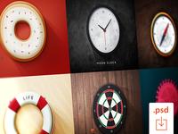 FREEBIE: 6 Round Icons