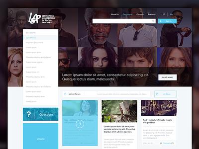 LSPA  justas studio4 web design news portal