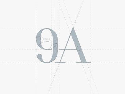 9A logo grid justas studio4 logo grid grid logo greyscale