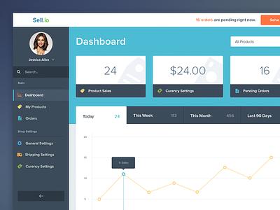 Dashboard justas studio4 dashboard ui ux user interface graph sale