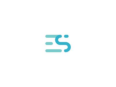 ES Monogram monogram logo es guidlines grid logo grid