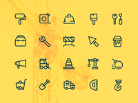 Construction Works Icons