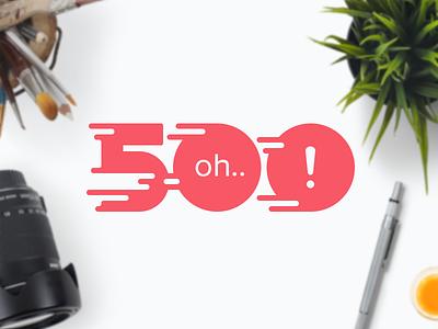 500 500 page 500 error page illustration header image speed fast server error
